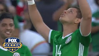 Chicharito stands alone as Mexico