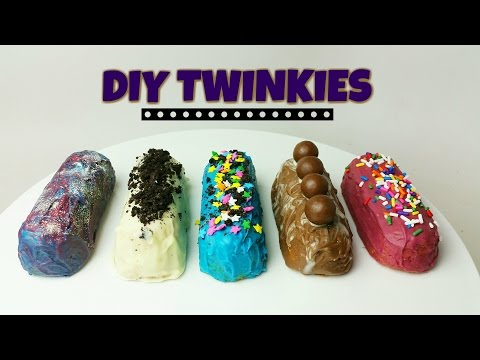 DIY TWINKIES: GALAXY, OREO, NUTELLA - CookingwithKarma
