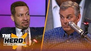 Chris Broussard reacts to Magic's remarks about Pelinka & Lakers, talks KD's future | NBA | THE HERD