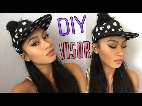 DIY Visor (no sew) || ThatsSoYin