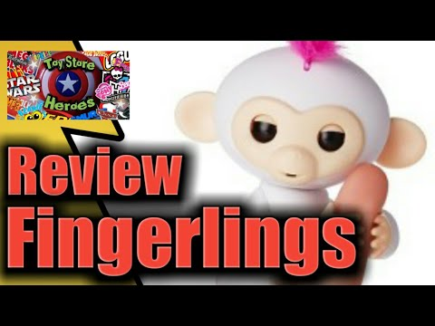 Fingerlings Review How To Play With Your Baby Monkeys!