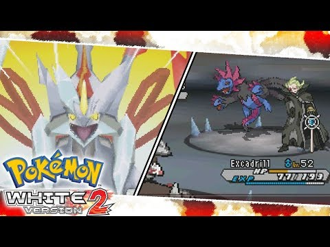 White Kyurem and Ghetsis Battle (Challenge Mode) | Pokemon White 2