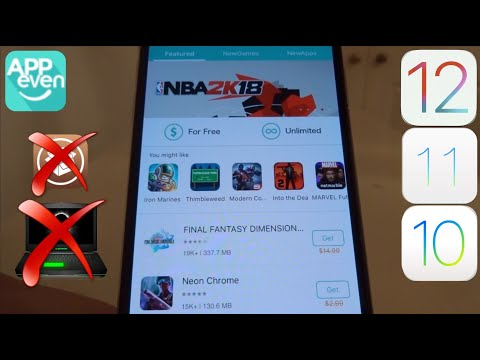 NEW AppEven GET PAID Apps & Hacked Games FREE iOS 11 - 11.3 / 10 / 9 NO Jailbreak iPhone iPad iPod