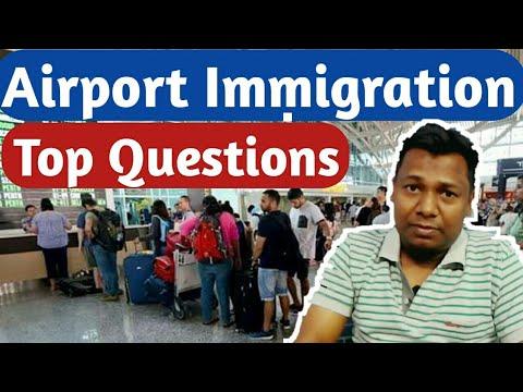 Immigration Questions at Airport   Thailand Experience   (क्या पूछते हैं इमीग्रेशन वाले?)