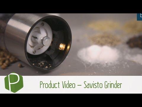 Product Video - Savisto Salt & Pepper Mill Grinder