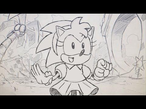 Sonic Mania Plus - Amy Rose Reveal Trailer