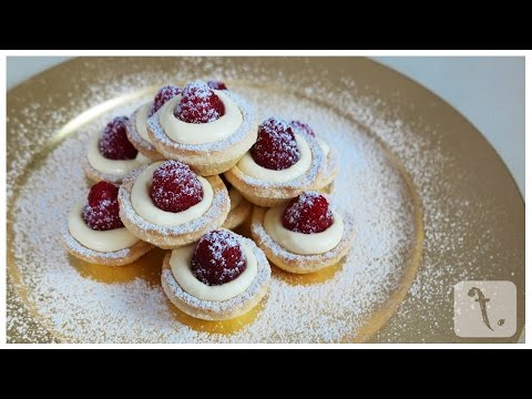 Lemon & Raspberry Tartlets | FoodPoint