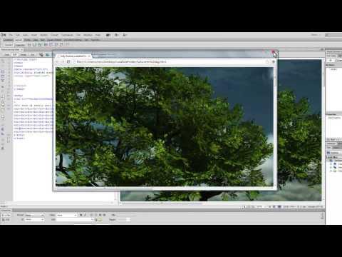 Dreamweaver Tutorial : Creating a full Screen responsive background Image using css 2/ css3