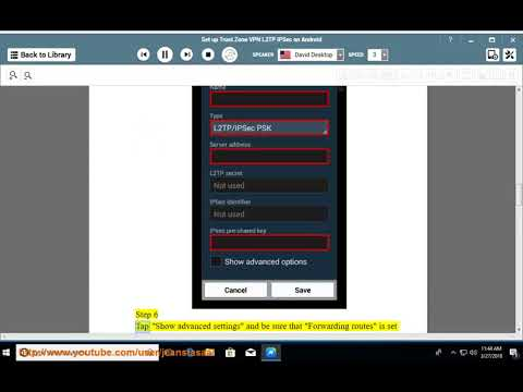Set up Trust.Zone L2TP/IPSec VPN on Android
