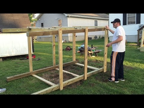 Building a playset for the grandkids