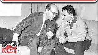 عبد الحليم حافظ يجري لقاء مع محمد عبد الوهاب في ليالي الشرق عام 1970