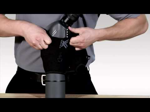 How To Put a Fitted Case Onto a Spotting Scope