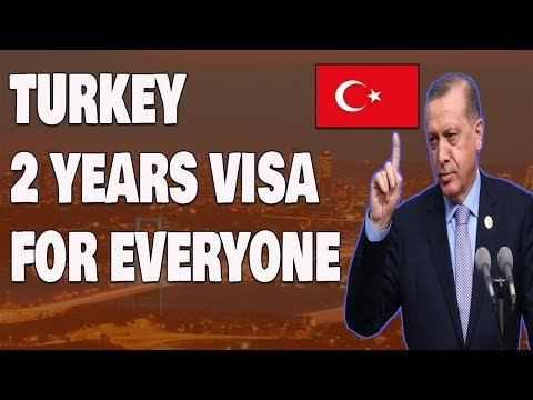 Get Turkey 2 Year Residency Permit Visa Easily