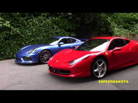 Driving Supercars on the Sea to Sky Highway