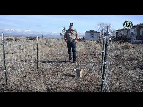 PIO POV: How To Make a Small Electric Fence Enclosure