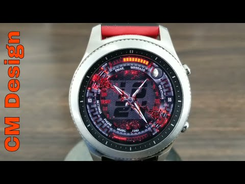 Gear S3 Watch Face Giveaway (By:CM Design)