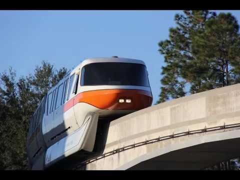 Monorail To Epcot - Full Audio