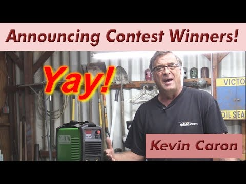 Announcing our Contest Winners! - Kevin Caron