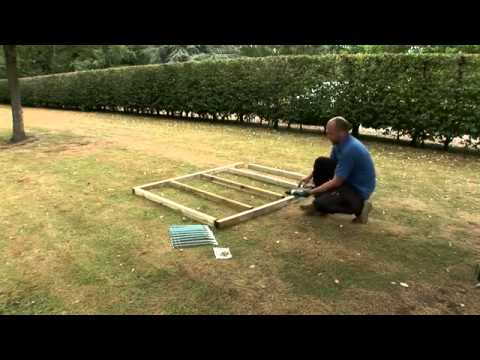 How To Build A Forest Wooden Shed Base