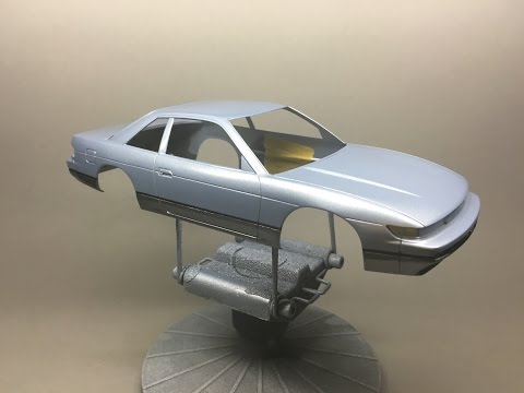 How to: Paint a Scale Model with Spray cans Part 2: Color