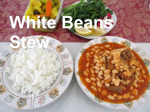 How To Make White Beans and Beef Stew/ #Recipe188CFF / #cffrecipes