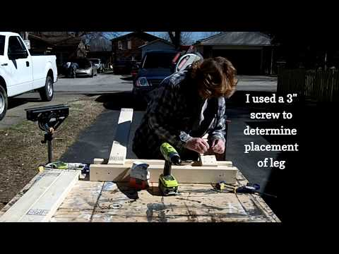 easy 2x4 sawhorse  plans
