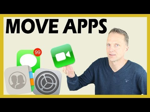 How to Move Apps and Create Folders on iPhone or iPad.
