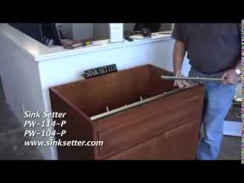 Granite Undermount Sink Installation