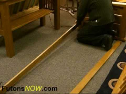 Wood Futon Frame Assembly