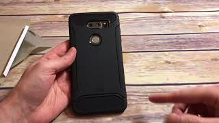 Tudia TAMM Case For LG V30 Unboxing and Review