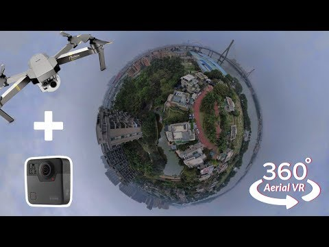 Real Estate Aerial 360° Drone Video Example | GoPro Fusion + DJI Mavic Pro