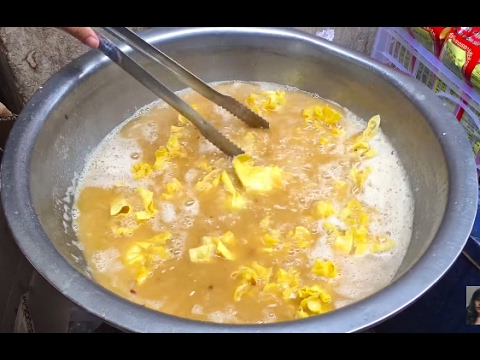Cooking Food For Chinese New Year, How To Make Deep Fried Dumpling, Family Food