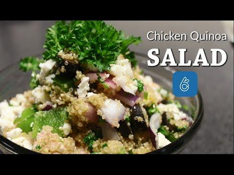 Healthy Mediterranean Quinoa Salad Recipe Tutorial