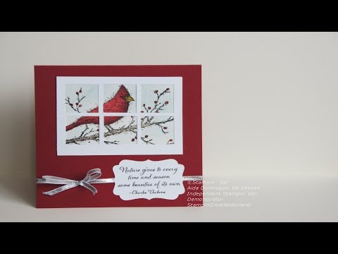 Create Window Card With Square Punch