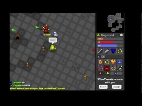 ROTMG WHITE BAG Doom Bow Drop UDL (undead lair)