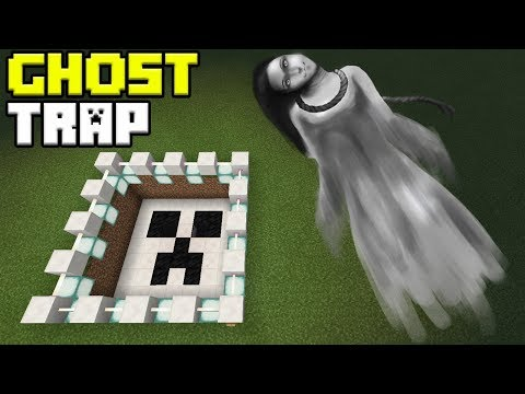 How to Make a GHOST TRAP   Minecraft PE