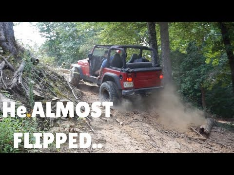 Manual Jeep Off Road MAKES It Up THIS!