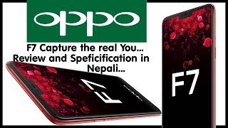 Oppo F7 Full review and specification in Nepali.