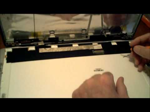 Laptop Screen Replacement / How to Replace the Screen on the MSI A5000-040US Computer