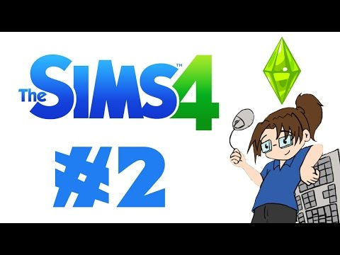 Let's Play Sims 4 - Part 2: Building our Home!