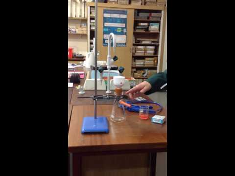Suction Filtration Using a Hand Pump