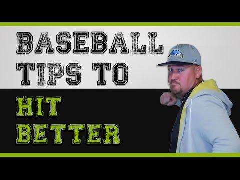 3 Baseball Hitting Tips on How to be a BETTER HITTER!
