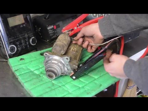 How to Test a Car Starter EASY!