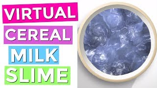 Rainbowplaymaker videos by rainbowplaymaker virtual cereal milk slime how to make virtual slime on your iphone ccuart Image collections