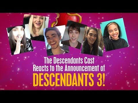 Cast Reactions! 🙌 😍 | Descendants 3