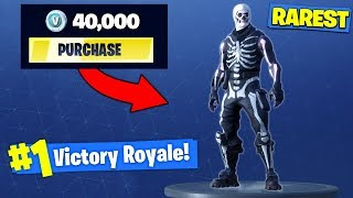 The *MOST EXPENSIVE* SKIN In Fortnite Battle Royale!