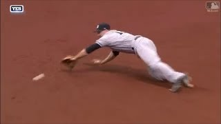 MLB Amazing Diving Stops 2017