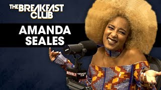 Download Amanda Seales On Male Insecurities, Russell Simmons, Colorism In America + More Video