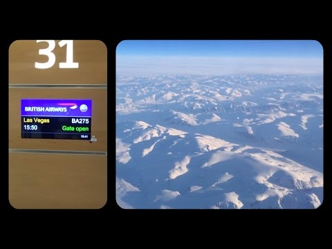 Heathrow To Las Vegas Flight With British Airways,The Worst Airline Around?