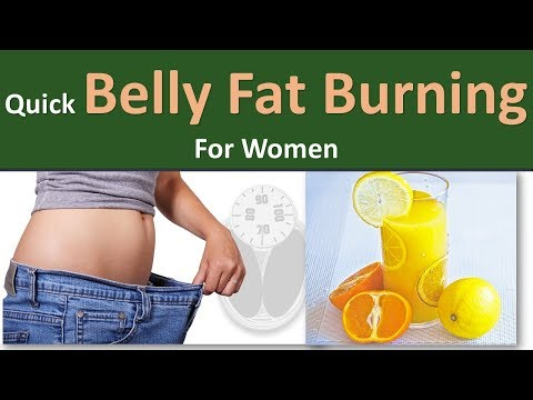 Quick Belly Fat Burning For Women Body Natural Vinegar For Weight Loss